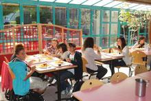 restaurant scolaire collège et lycée Saint Jean La Croix