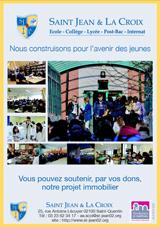 Bordereau d'appel aux dons Saint Jean et La Croix